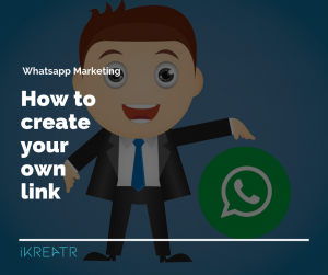 whatsapp marketing create business link