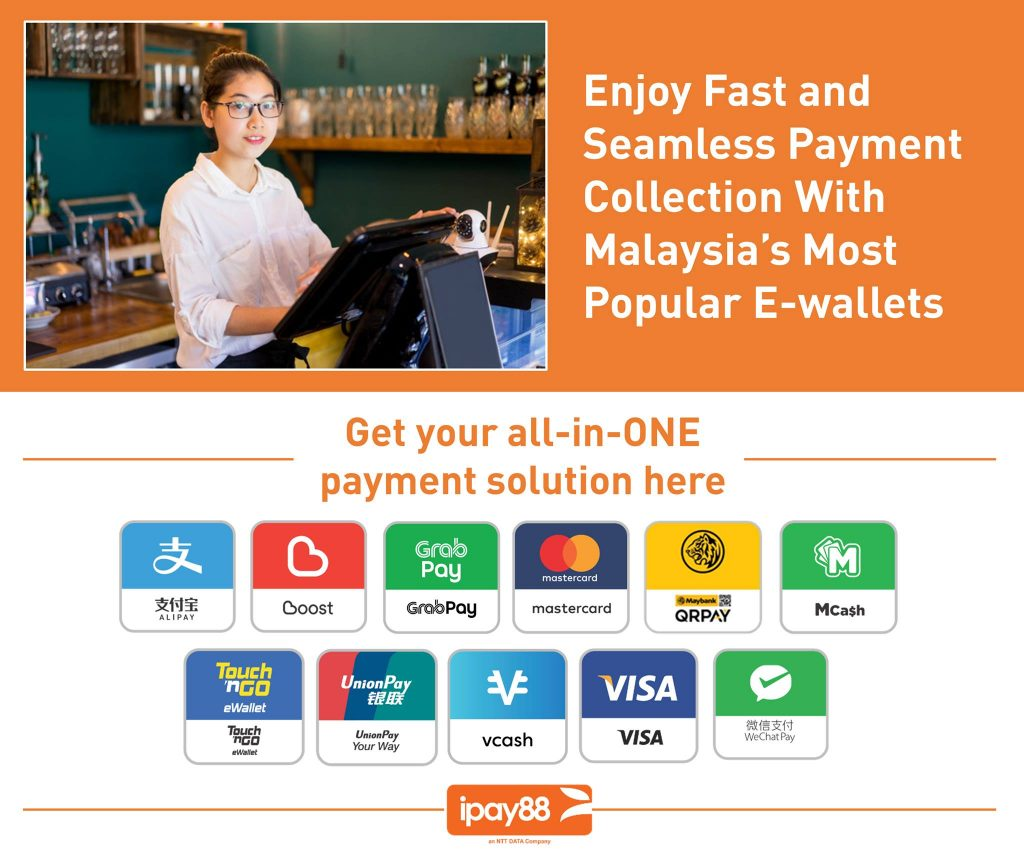 Online Payment Gateway for e-wallet, credit card, FPX online transfer